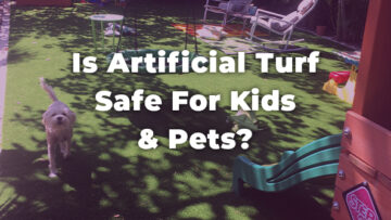 Is Artificial Turf Installation Safe For Pets?