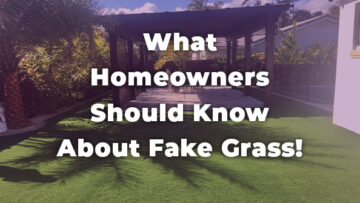 What South Florida Homeowners Should Know About Fake Grass